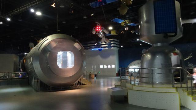 中国は目が宇宙に向かっている。宇宙の展示については結構充実しているかも
