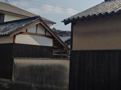 『碁会所』須田悦弘 中の作品は本物と見紛うほどの木彫りの「竹」と「椿」。