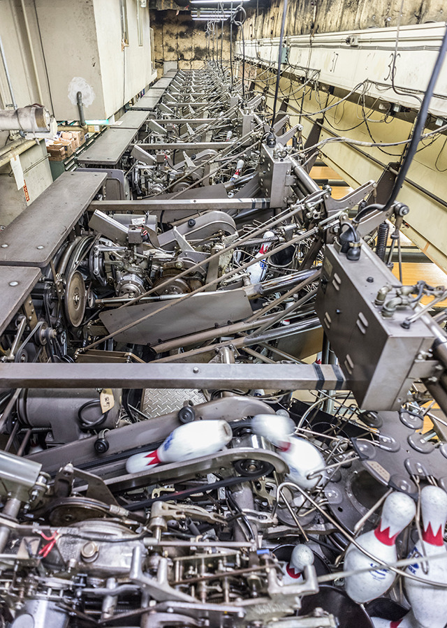 43年の歴史に幕を閉じた田町ハイレーンで、ボウリング場のおもしろさに迫ります。「ボウリングは装置産業」とのこと。(藤原)