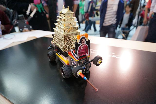 そしてそのロボット、大阪ドリル