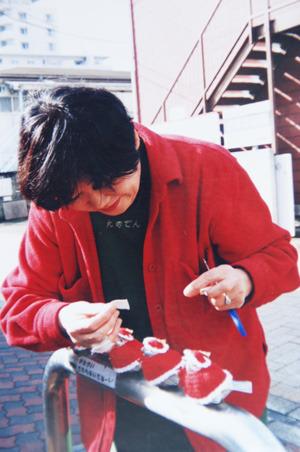 売店勤務時代の石川さん(写真提供/ご本人)