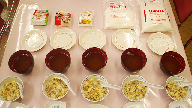 5種類のうま味調味料を食べ比べてみました。
