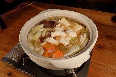 柔らかい身はフライのほか、鍋にも合う。