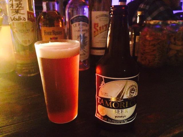 「タモリカップビール」もいただきました