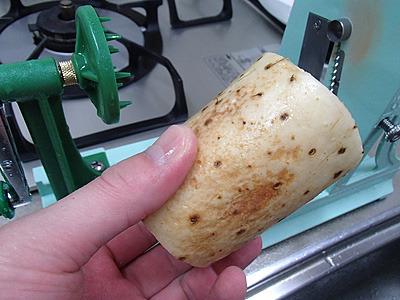 麺状にするのにオススメの野菜。山芋。