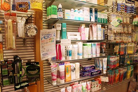 歯磨き粉も専門店ならではのいいやつが揃ってるっぽい。