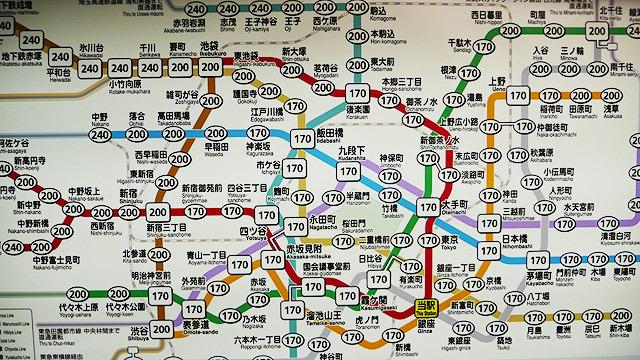 電車を使わずとも、実は歩ける東京