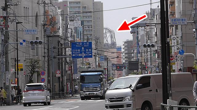東京ドームシティも見える