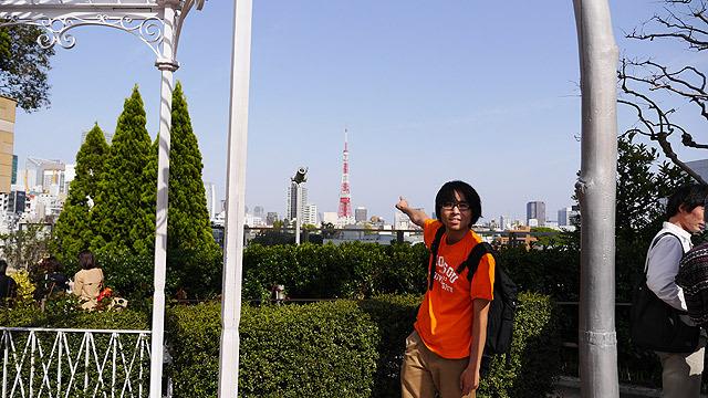 東京タワーを目指します!