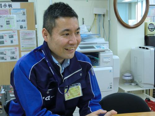 1年ぶりに登場の株式会社アメニティ・内田次長