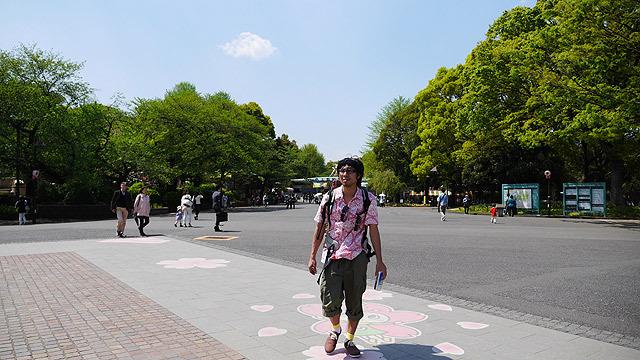 ここが上野公園かぁ