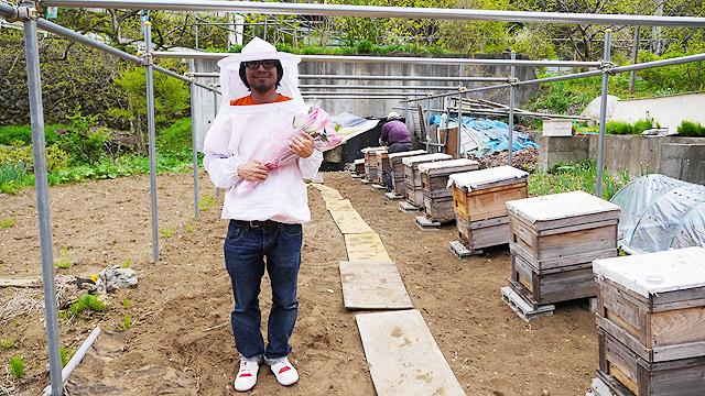 ミツバチにありがとうを言いに行きます!