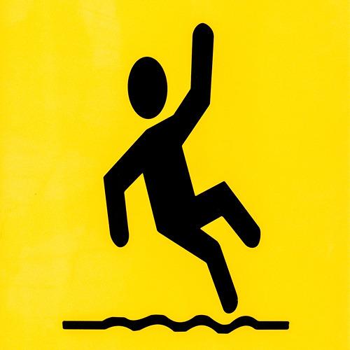 滑るというより踊りだ。前出の階段にいたのと同じ流派。ほぼサタデー・ナイト・フィーバー。
