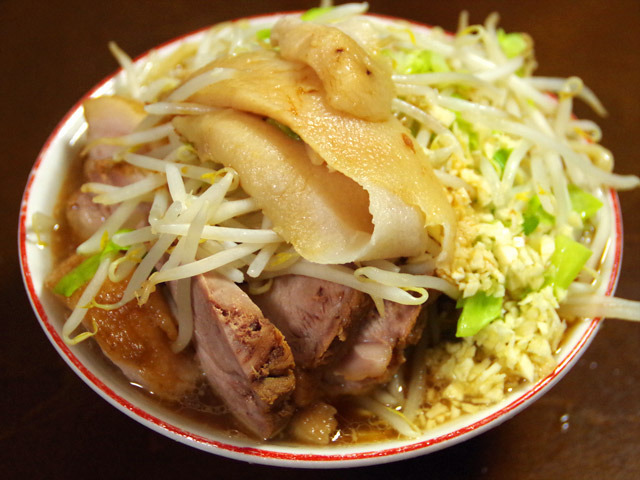 味のコスプレ(「自宅でできる二郎風ラーメンの作り方」より)