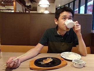 肉用のソースはかけずにスープ感覚で直接ちょびちょび飲むのがうまい