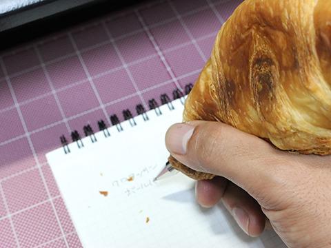 とにかく握りやすくて書きやすい。