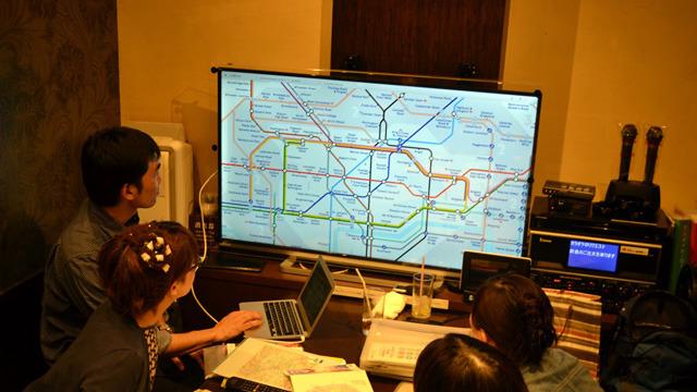 ロンドン地下鉄路線図、いいねぇー