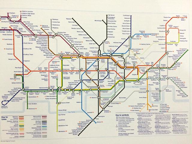 ロンドン地下鉄路線図がすべてのはじまり