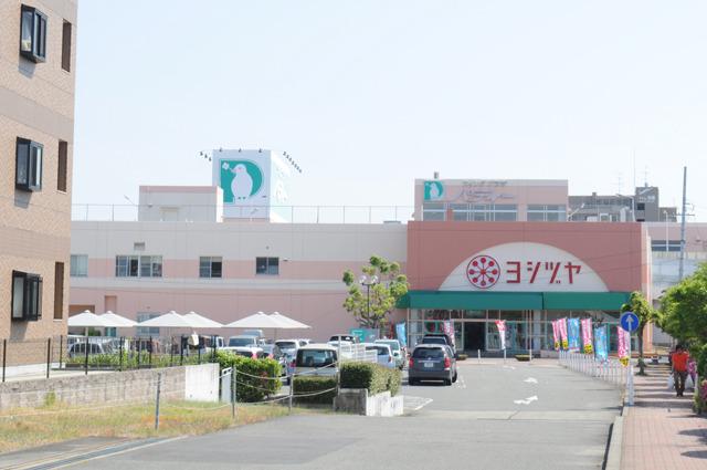 弥富駅近所のスーパーに向かう。この辺りハトを看板に書いてるスーパー多くない?