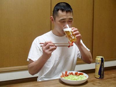 ビールに合うね!