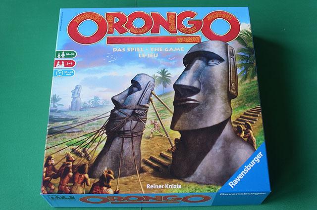 オークションゲームの第一人者、ライナー・クニツィア氏による作品「オロンゴ」。