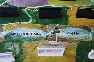 ボードにも「裂け谷」、「モリアの坑道」など