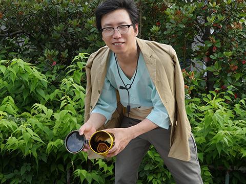 つづいてはサードウェーブ系男子だよ、コーヒーも豆からひくような丁寧な暮らしだよ(ぼくもひいてます!)