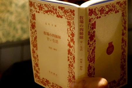 ちなみにフランス書院文庫を岩波文庫風にすると……うん、おしゃれカフェでも読める!