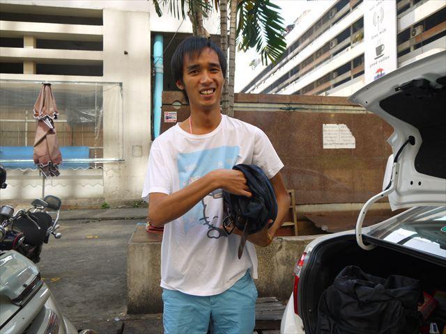 タイ人の母親と日本人の父親を両親に持つ、池田さんだ。