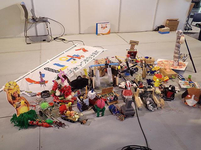 31 robots gather together