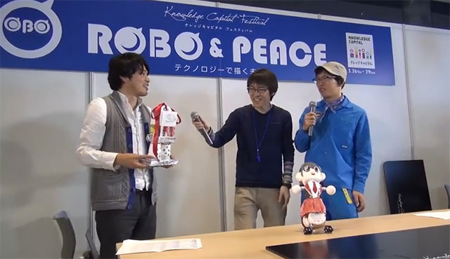 The prize was a trophy made by a kindergarten child, one step up from the last contest's trophy made by an elementary school student.