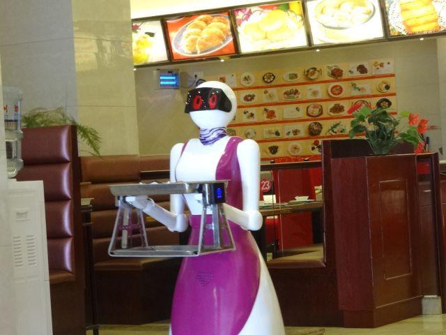 遅いなりに1台で前へ後ろへ仕事をこなす。 言うなればロボット界のおしんだ。見たことないけど。