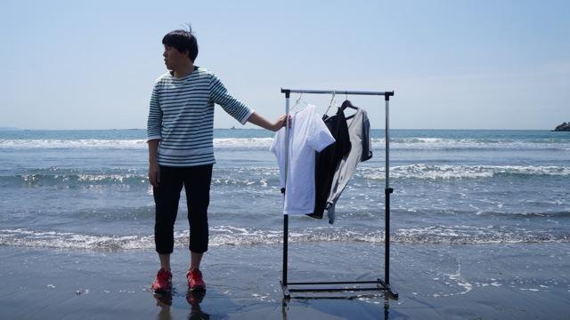洗濯物を飛ばすため茅ヶ崎まで行ってきました