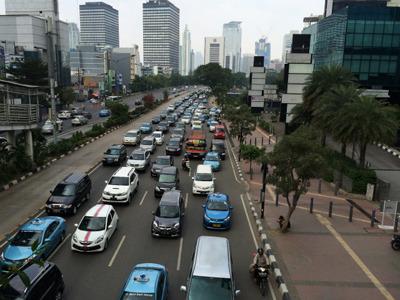 ジャカルタは渋滞のまちだった