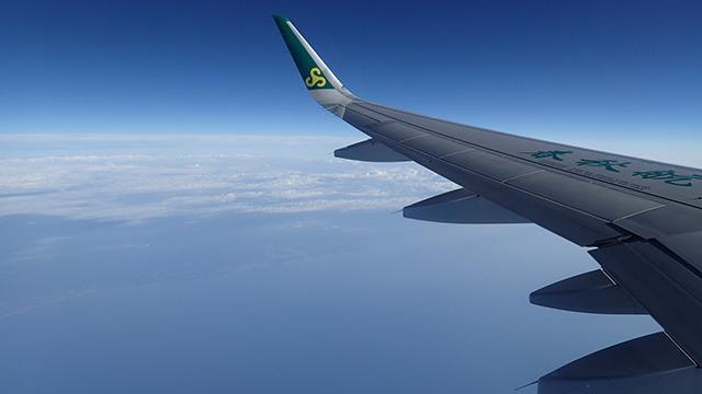 ちゃんと予約していた飛行機に乗ることができました。