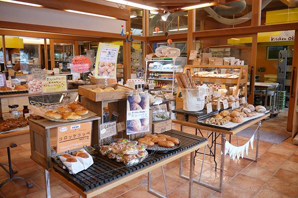 松江市のキッチンおかださん。きれいな店舗。たまに買いに行くけど、お店の人と話すのははじめて