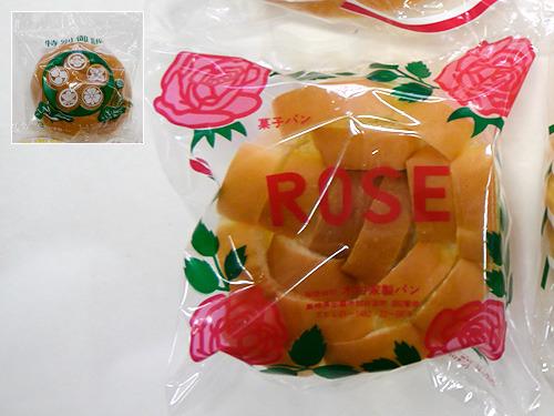 法事パンは家紋デザインの「木村家製パン」さんの「ROSEパン」