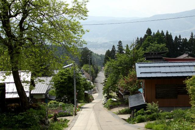 修験道の山の参道は、どこも真っ直ぐなのが特徴的だ