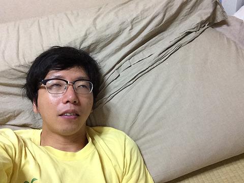 体力がなくなり、休んでたらこのあと寝た