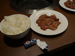 焼き肉も最初からガム食べればいいのでは?
