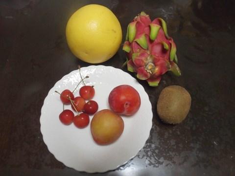 とりあえず用意した果物たち。