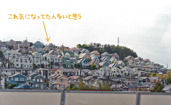 新幹線車窓からの風景。E席を予約して、待ち構えて連写しました。