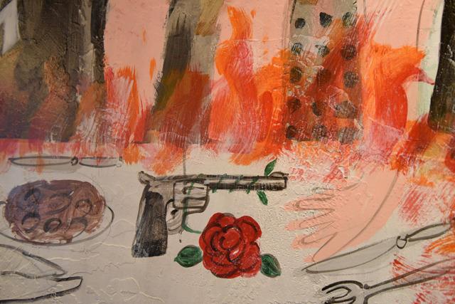 炎に焼かれるヘヴィな食卓