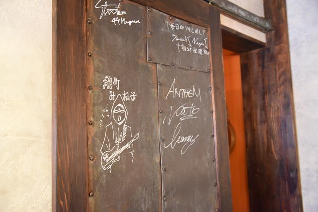 ジャパニーズメタルバンドの大御所・ANTHEM(アンセム)のリーダーも来店