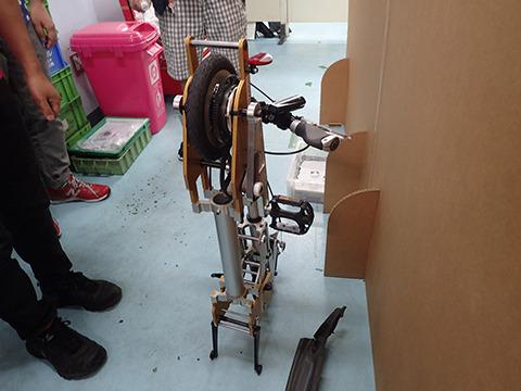 折り畳み自転車的なものか。
