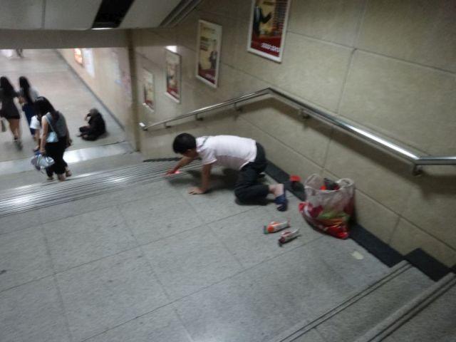 3.鯉のおもちゃ。動く金魚のおもちゃ一筋で売っている。時々動いて階段から落ちる。