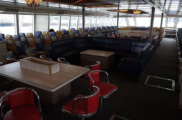 なかなか良い感じの船。こういうところで飲み会したい(もしくは限定ジャンケン)。