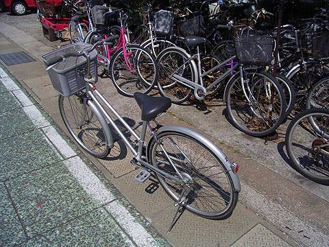 10年前は普通の自転車だった。