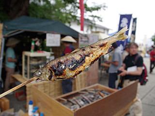長井は水がとてもおいしい土地なので、何を食べてもおいしいんだと渋谷君が力説していたよ。
