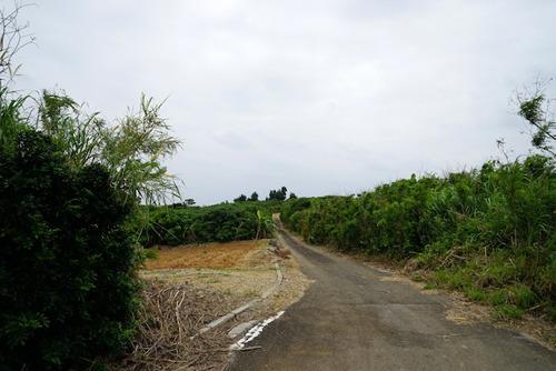 島の最北端、平久保灯台近くを探索。